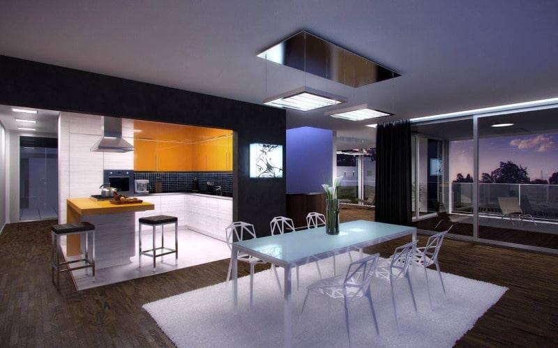 Техно стиль в интерьере и в мебели 2